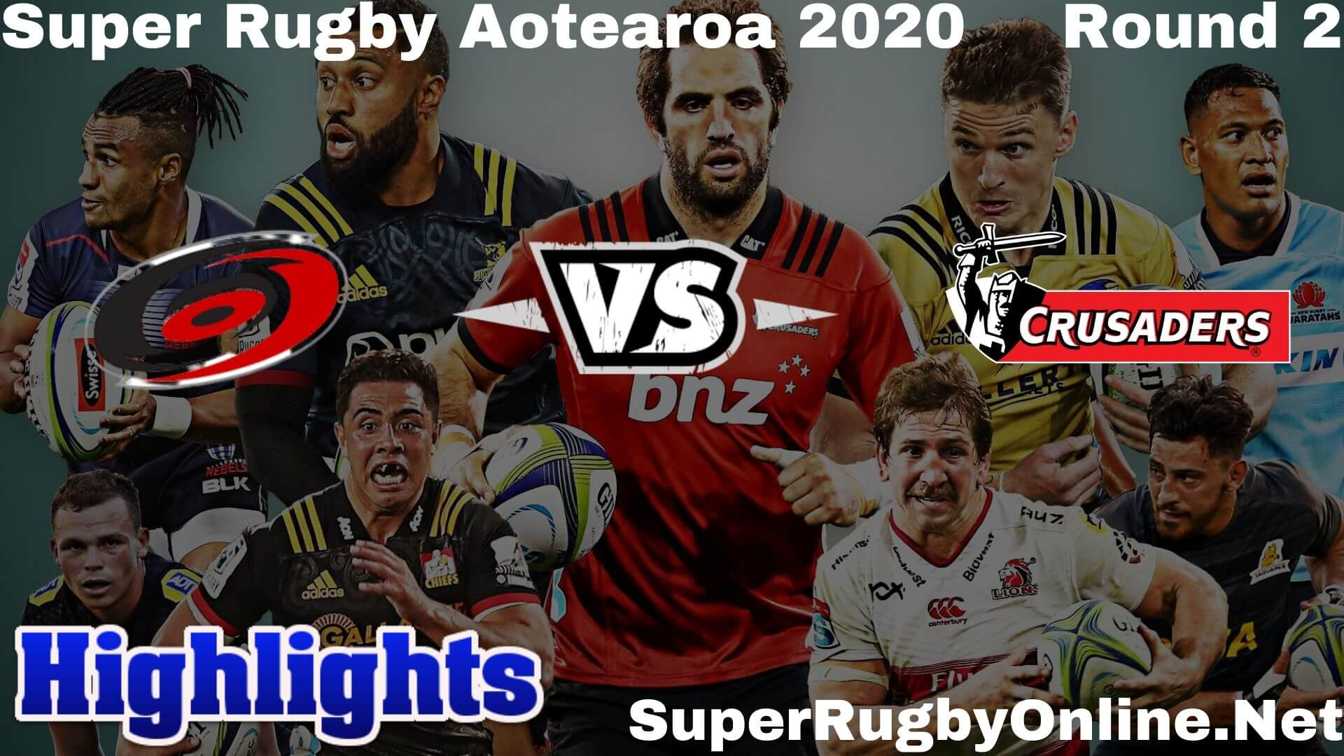 Hurricanes Vs Crusaders Highlights 2020 Rd 2 Super Rugby