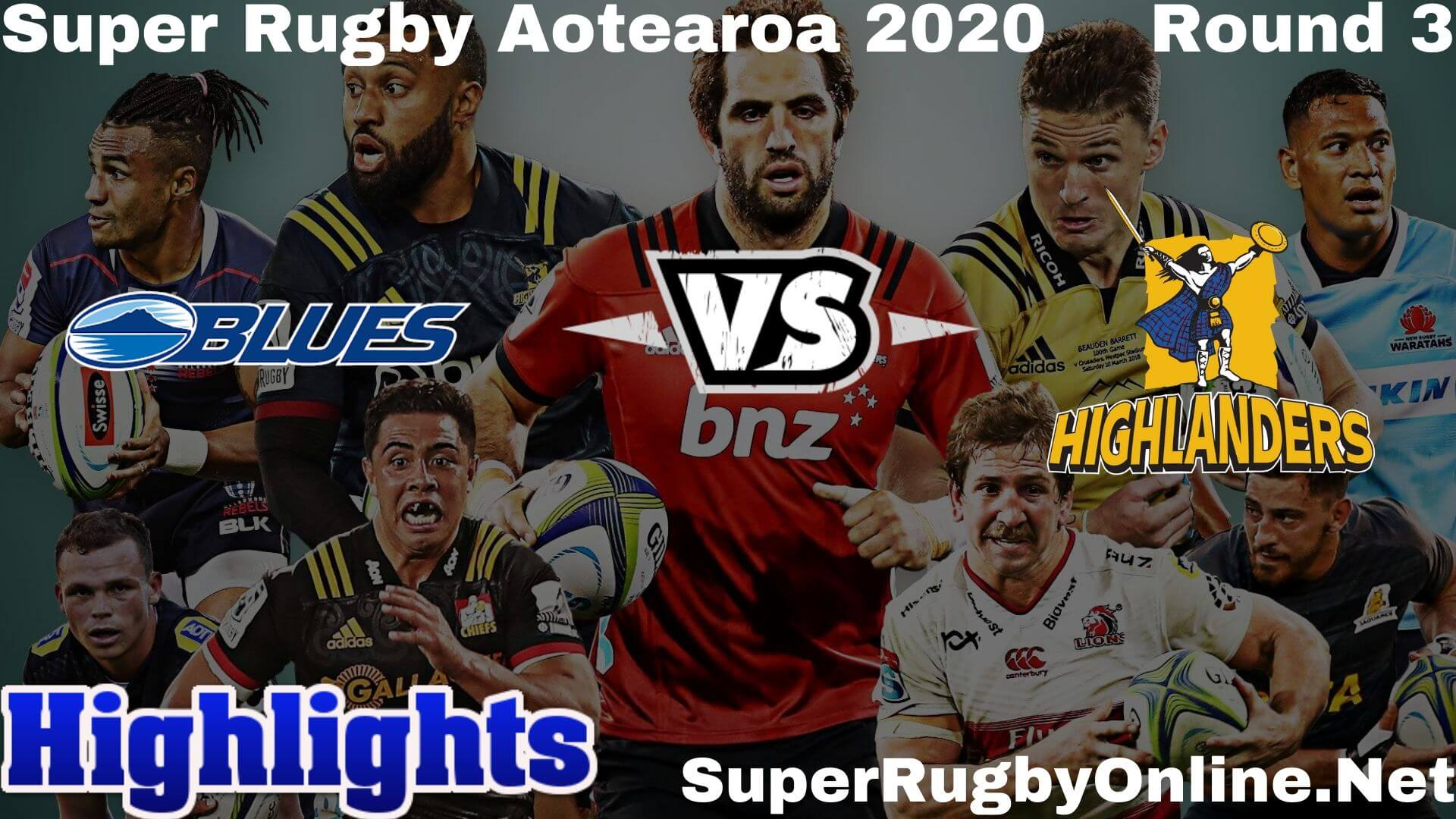 Blues Vs Highlanders Highlights 2020 Rd 3 Super Rugby