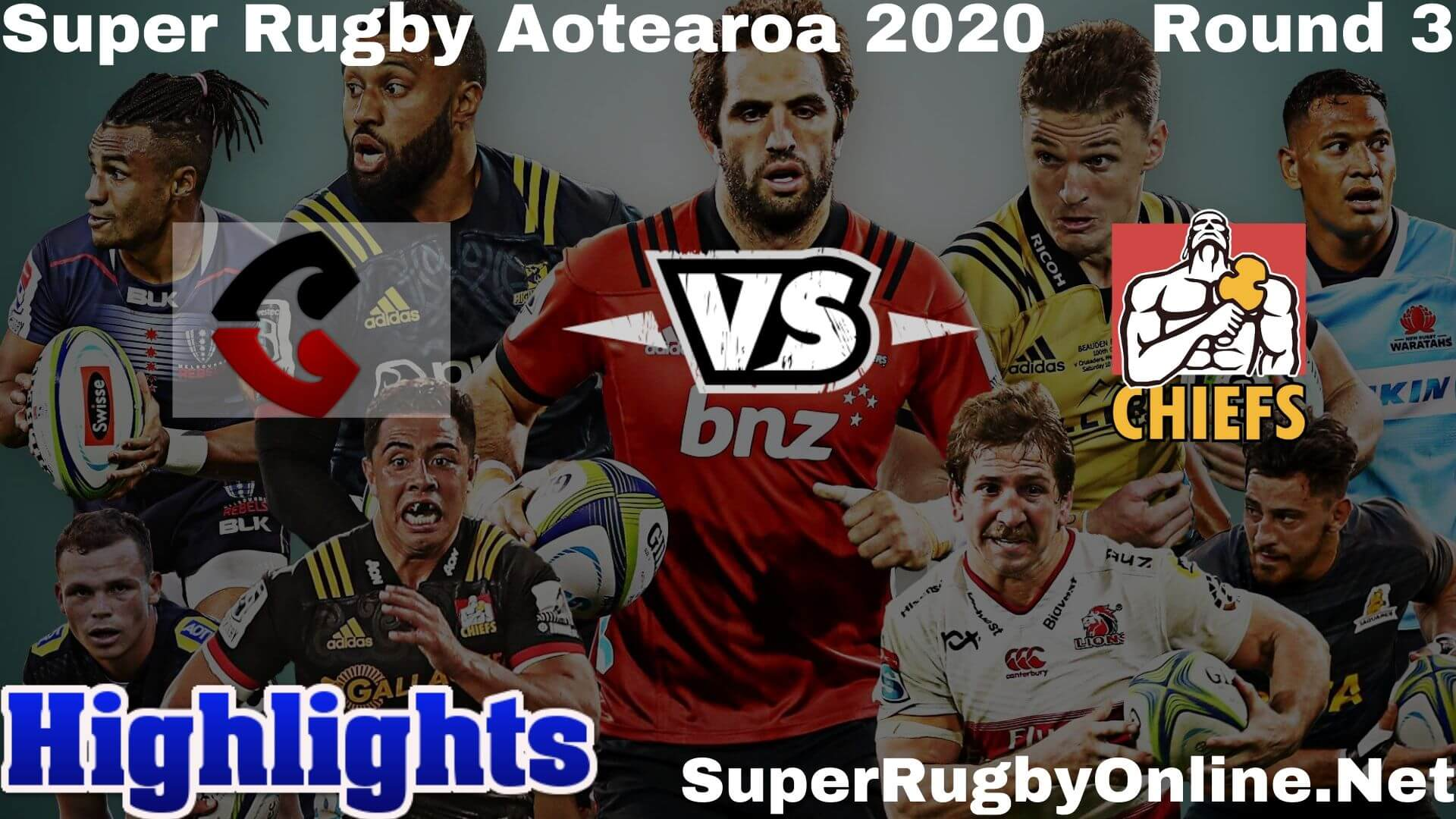 Crusaders Vs Chiefs Highlights Rd 3 Super Rugby 2020