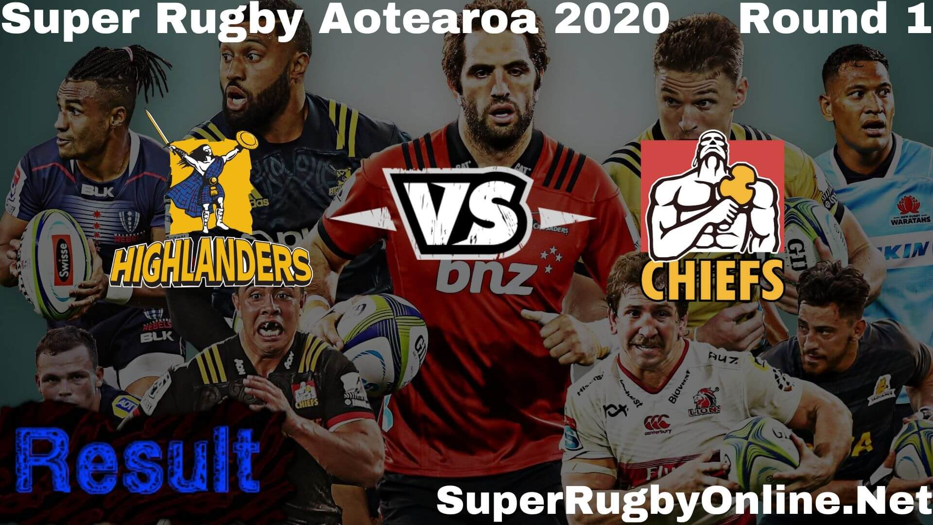 Highlanders Vs Chiefs Highlights Rd 1 Super Rugby 2020