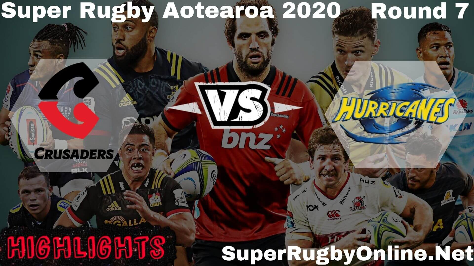 Crusaders Vs Hurricanes Rd 7 Highlights 2020 Super Rugby Aotearao