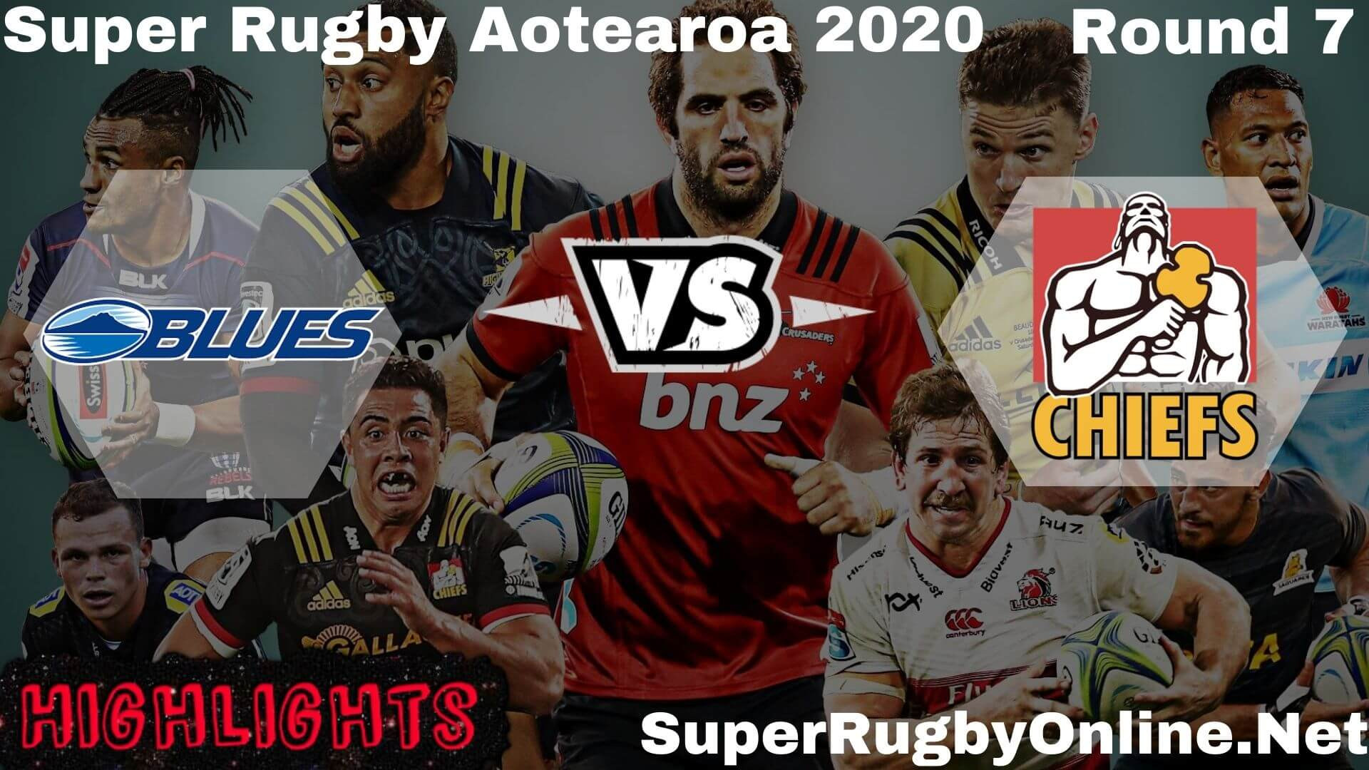 Blues Vs Chiefs Rd 7 Highlights 2020 Super Rugby Aotearao