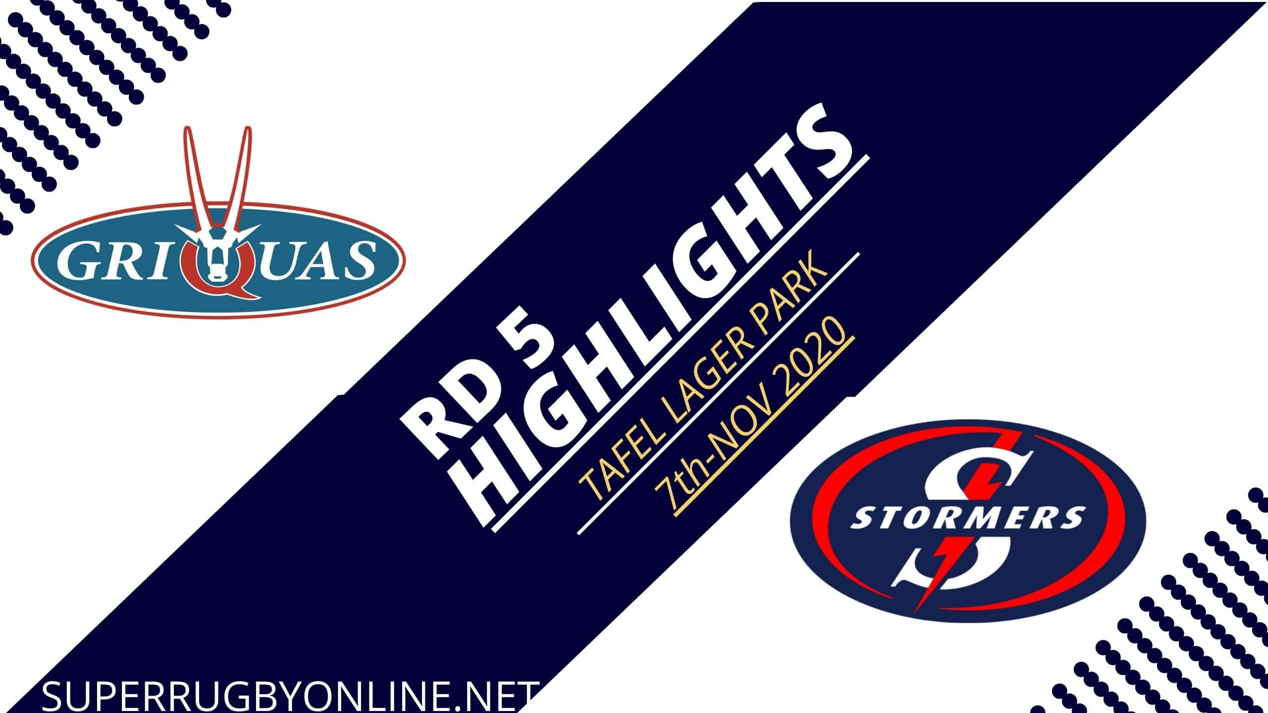Griquas vs Stormers Rd 5 Highlights 2020