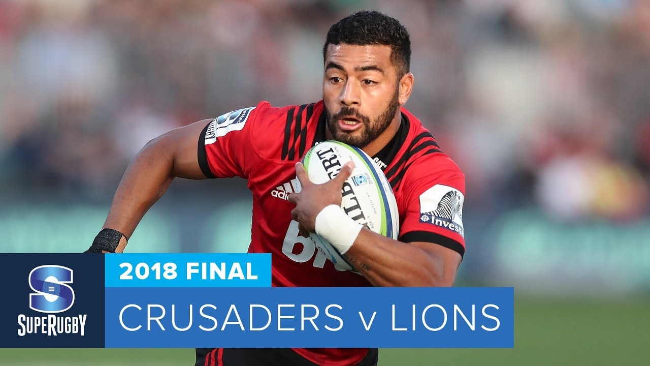 CRUSADERS VS LIONS FINAL-HIGHLIGHTS-2018