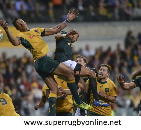 2016 Rugby Australia vs South Africa Live On Iphone