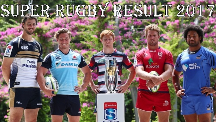 2017 Super Rugby Results