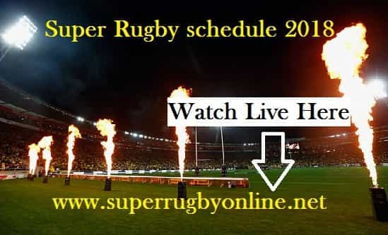 2018 Super Rugby Schedule