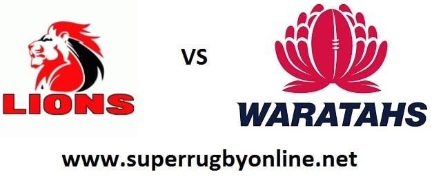 Live Lions vs Waratahs Online