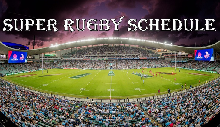 Super Rugby Schedule