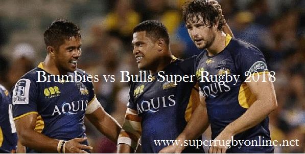 Watch Brumbies vs Bulls Live