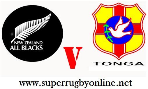 All Blacks vs Tonga live
