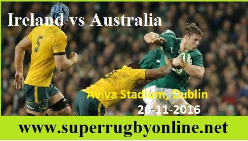 Australia vs Ireland live