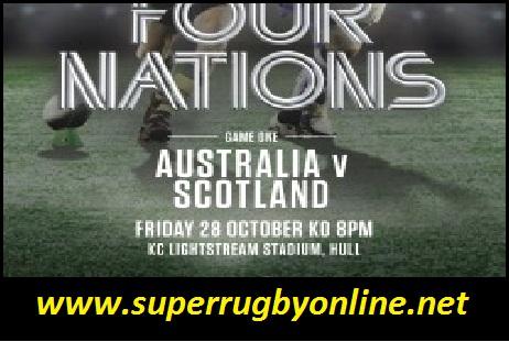 Australia vs Scotland live