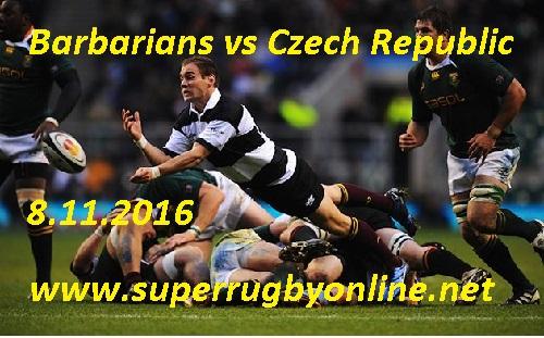 Barbarians vs Czech Republic Live