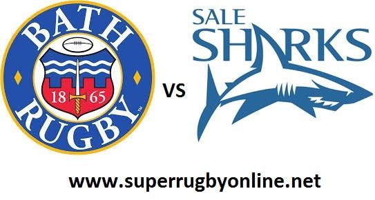 Bath Rugby vs Sale Sharks live