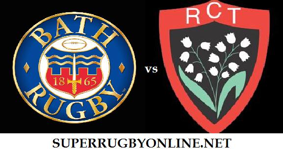 Bath Rugby vs Toulon