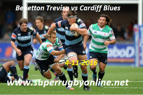 Benetton Treviso vs Cardiff Blues