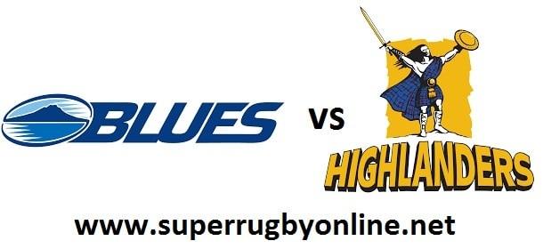 Blues vs Highlanders
