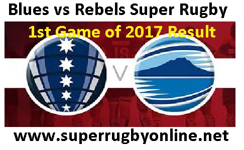 Blues vs Rebels Rugby Results