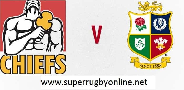 British and Irish Lions vs Chiefs live