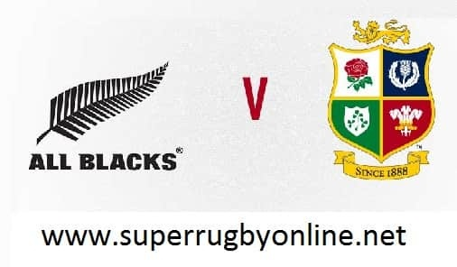 British and Irish Lions vs New Zealand live