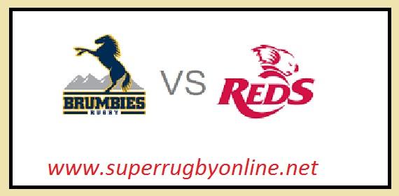 Reds vs Brumbies