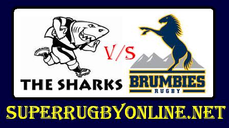 Sharks vs Brumbies