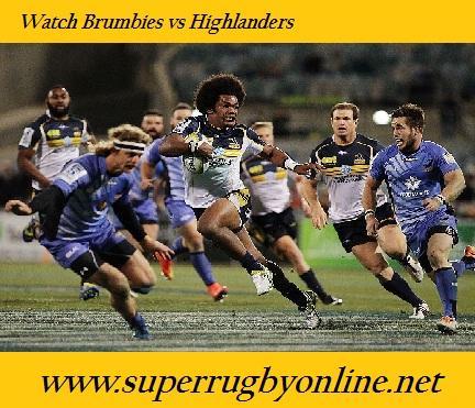 Brumbies vs Highlanders