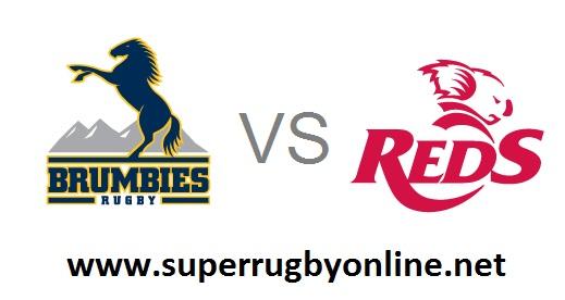 Brumbies vs Queensland Reds