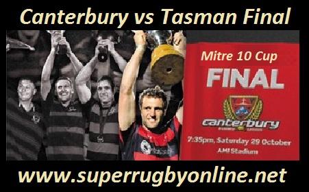 Canterbury vs Tasman