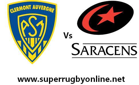 Saracens vs Clermont Auvergne live
