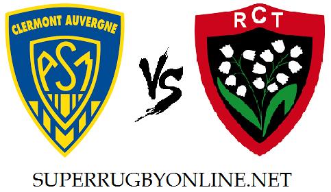 Clermont Auvergne vs Toulon live