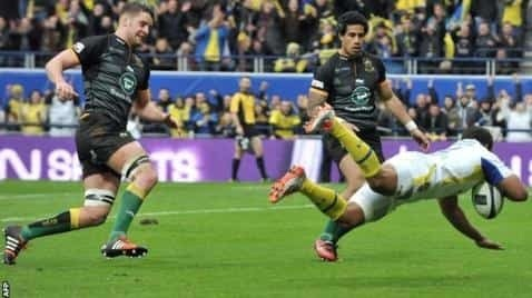 Clermont vs Northampton Saints