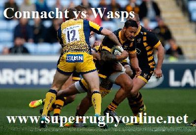 Connacht vs Wasps live stream