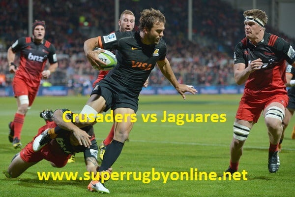 Crusaders vs Jaguares