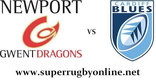 Cardiff Blues vs Dragons live