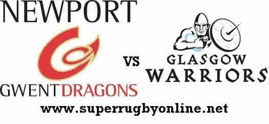 Dragons vs Glasgow Warriors live