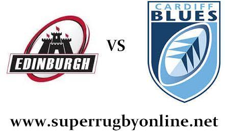 Edinburgh vs Cardiff Blues live