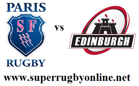 Edinburgh vs Stade Francais Paris live