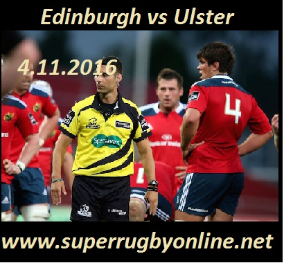 Edinburgh vs Ulster