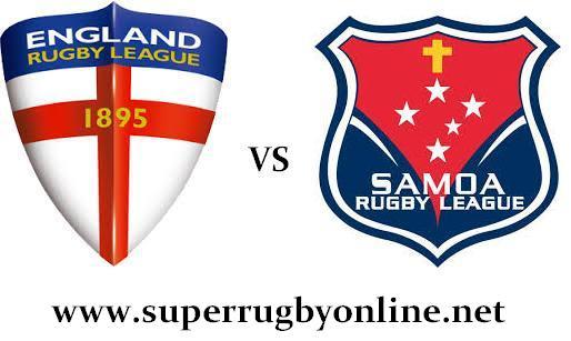 Samoa vs England