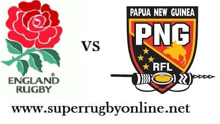 England vs PNG