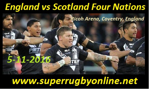 England vs Scotland live