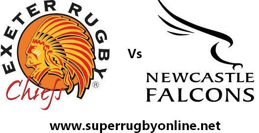Exeter Chiefs vs Newcastle Falcons live