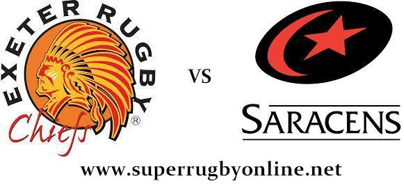 Exeter Chiefs vs Saracens live