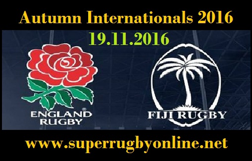Fiji vs England