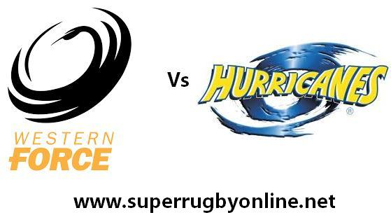 Hurricanes vs Western Force live