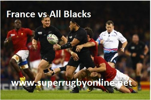 France vs All Blacks Live stream