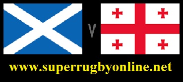 Georgia vs Scotland live