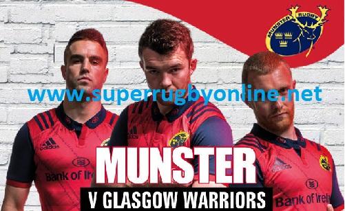 Glasgow Warriors vs Munster live